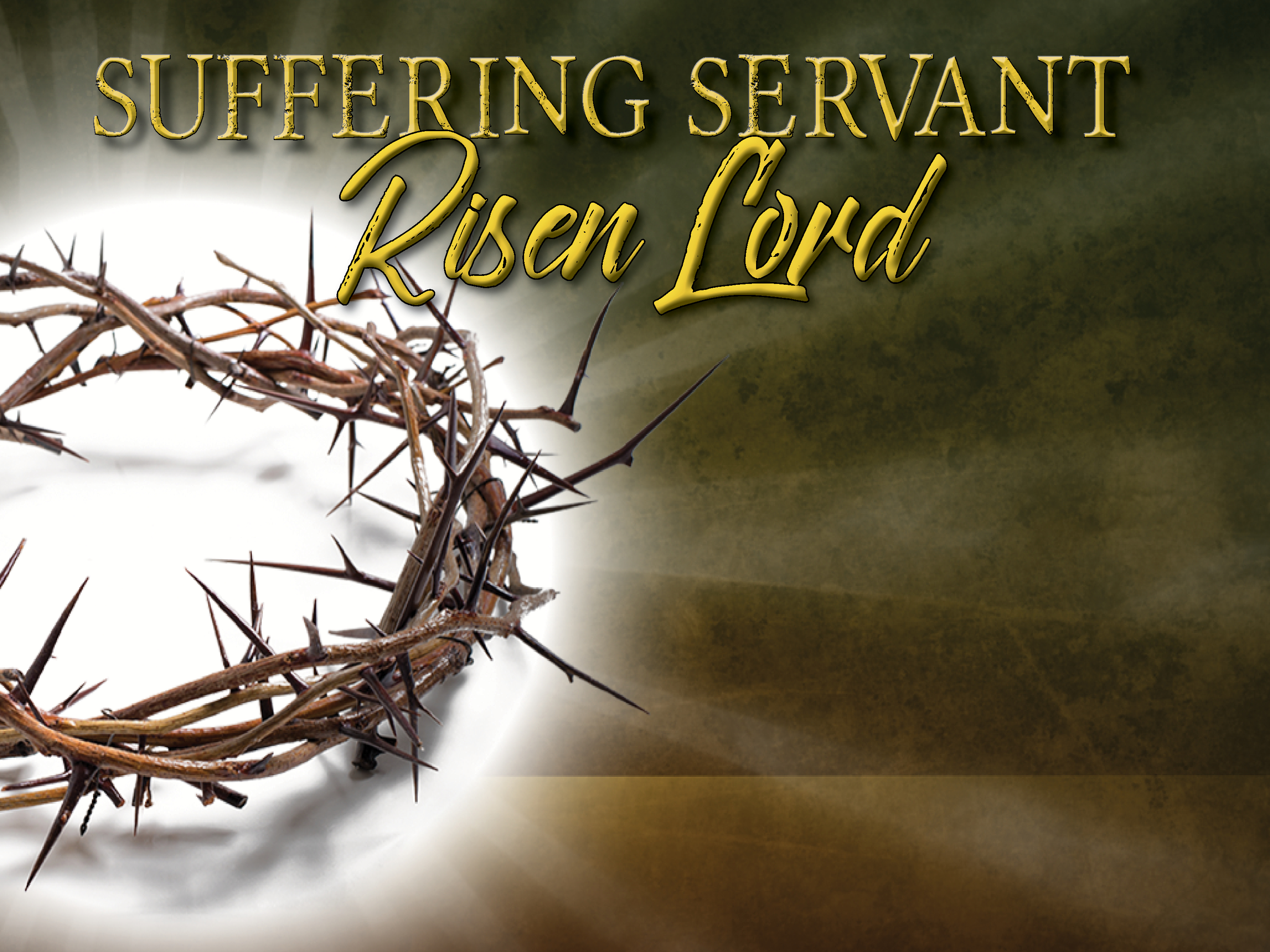 Suffering Servant, Risen Lord: All Things New